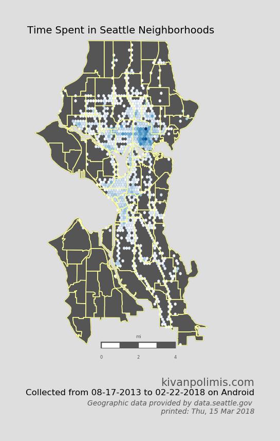 Location Data Exploration #2 - Kivan Polimis